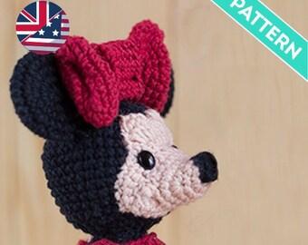 Ravelry: Mini Minnie Mouse Amigurumi pattern by Laila Lielbarde | 270x340