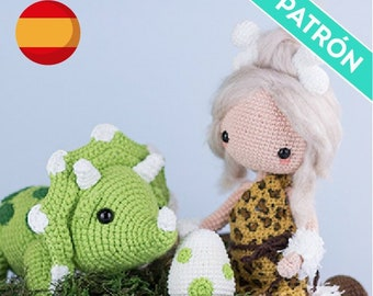 Dinosaurio Amigurumi a Crochet Video 2 Version (ZURDO) - YouTube | 270x340