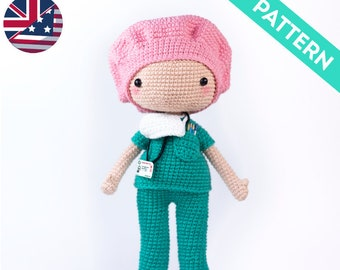 Amazon.com: Nurse Jazzy Amigurumi Crochet Pattern eBook ... | 270x340