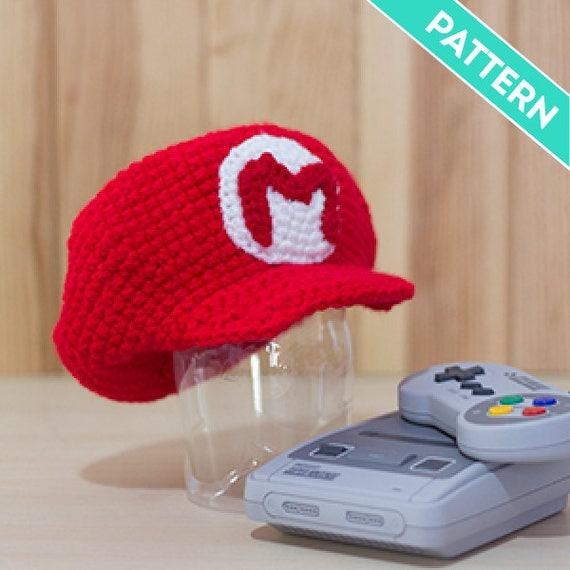 Patrón Crochet Gorra de Mario Bros y Luigi para Bebés PATRÓN | Etsy