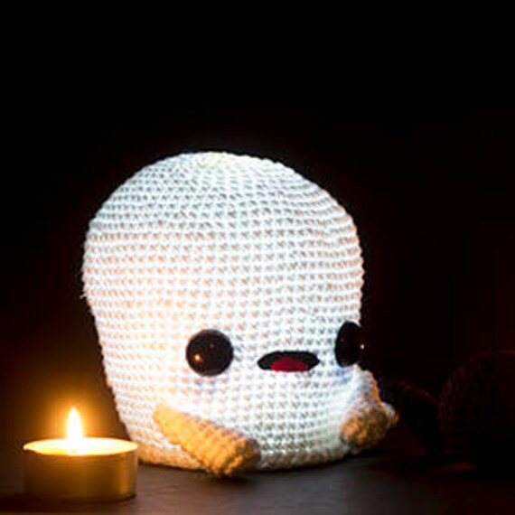 Patrón Crochet Fantasma PATRÓN INGLÉS PDF Patrón Crochet | Etsy