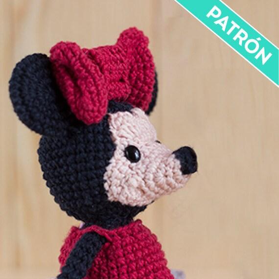 Patrón Amigurumi Minnie Mouse PATRÓN ESPAÑOL PDF Patrón