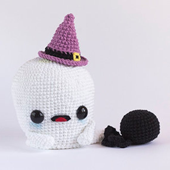 Patrón Crochet Fantasma PATRÓN ESPAÑOL PDF Patrón Crochet | Etsy