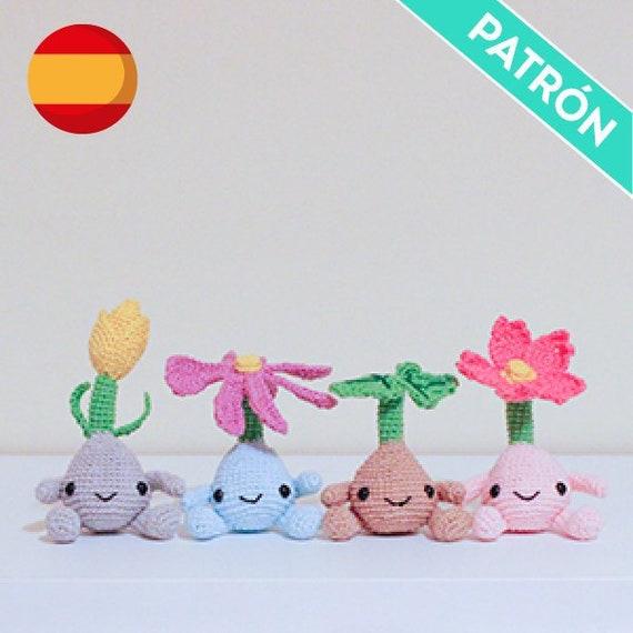 Patrón Crochet Mandrágoras PATRÓN ESPAÑOL PDF Patrón de | Etsy