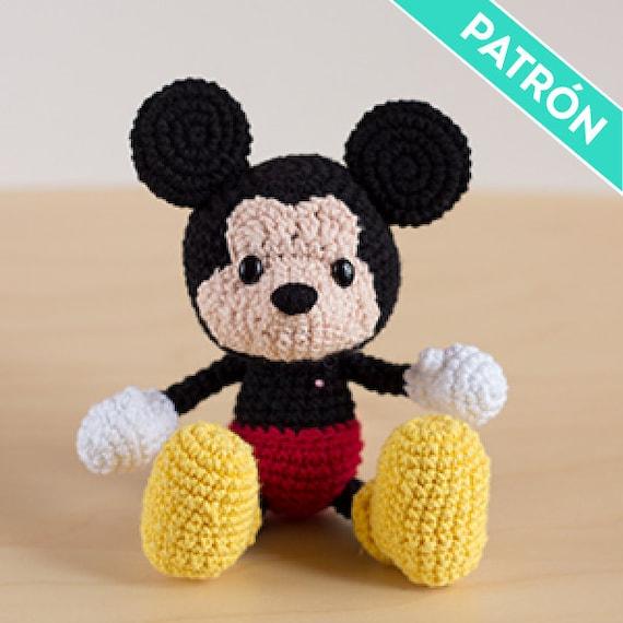 Patrón Amigurumi Mickey Mouse PATRÓN ESPAÑOL PDF Patrón de   Etsy