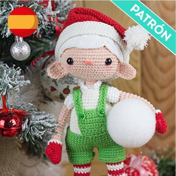 Linda pequeña Miss elfo Amigurumi Crochet patrón-PDF | Patron ... | 570x570