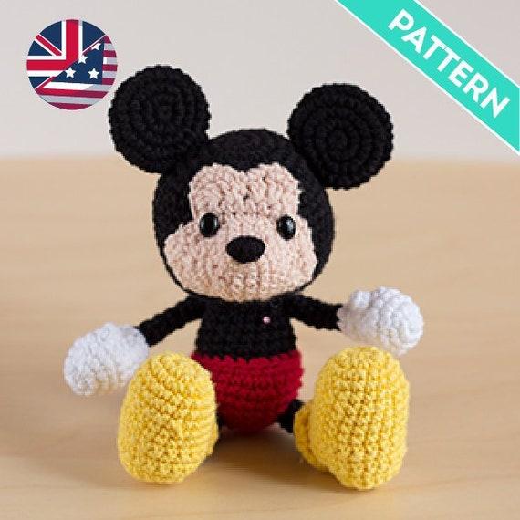 Mickey Mouse   Patrones de ganchillo disney, Amigurumi patrones ...   570x570