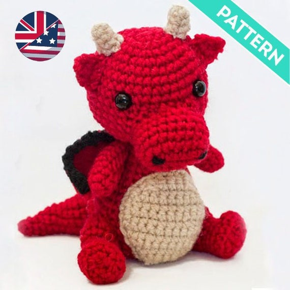 Free Pattern - Baby Dragon Rattle | 570x570
