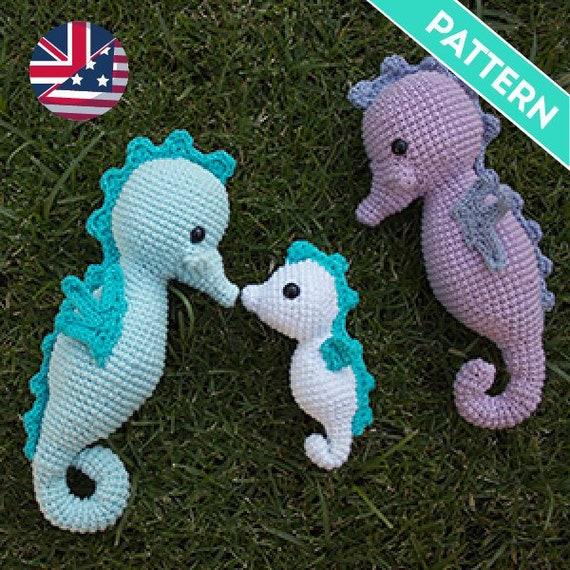 Patrón Amigurumi Caballitos De Mar Patrón Inglés Pdf Patrón Crochet Amigurumi Patrones Animales Crochet Amigurumi Patrones En Español