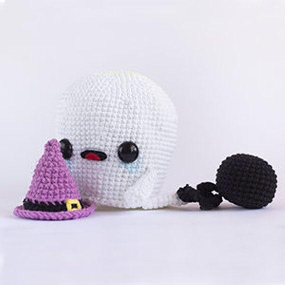 Patrón Crochet Fantasma PATRÓN ESPAÑOL PDF Patrón Crochet   Etsy
