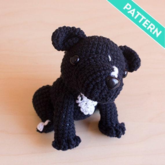 Summertime Italian Greyhound Dog Amigurumi Crochet Pattern