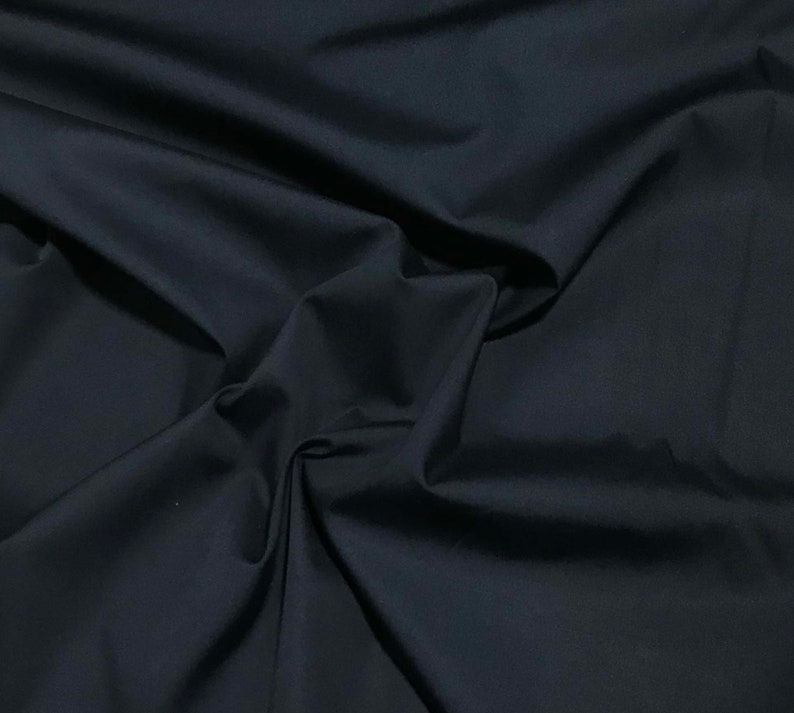 Pima Cotton Broadcloth Navy Blue Spechler-Vogel Fabric