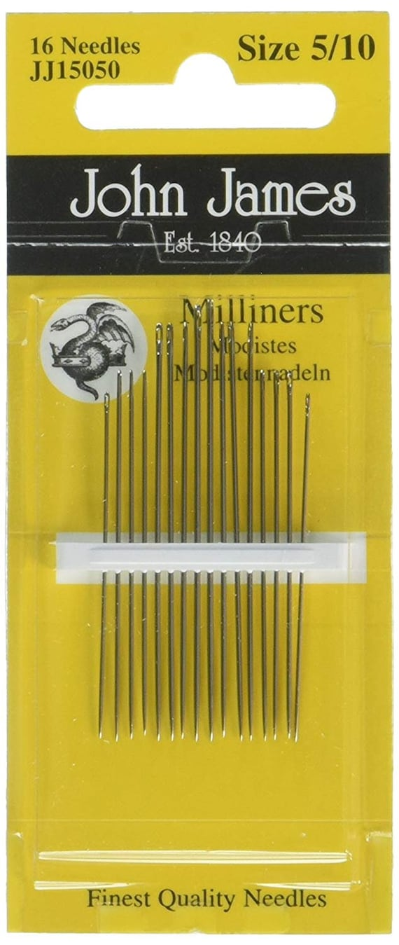 Colonial Needle 3 Count John James Trapunto Assorted Needles