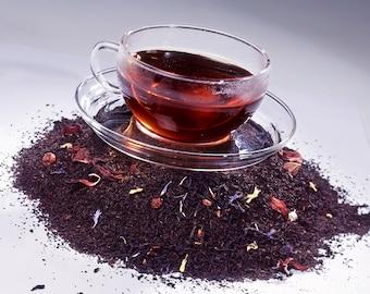 Tea Teabags 50 Black Currant Hand Blended black tea in teabags