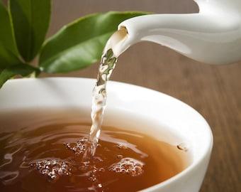 Tea Teabags 25 Citrus Rooibos Hand Blended  teabags herbal caffeine free red tea