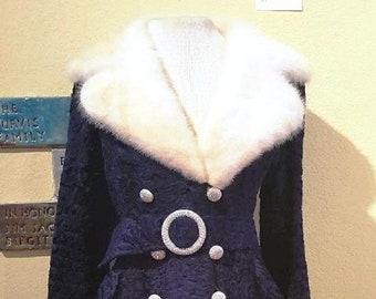 Vintage Persian Lamb & Mink Coat