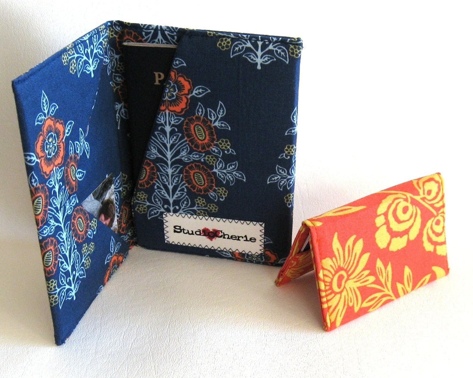 how to make professional passport and card wallets sewing