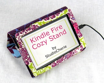 Sewing Pattern Original Kindle Fire Cozy Stand Instant Download
