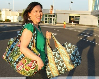 Sewing Pattern for Travel Duffle PDF format
