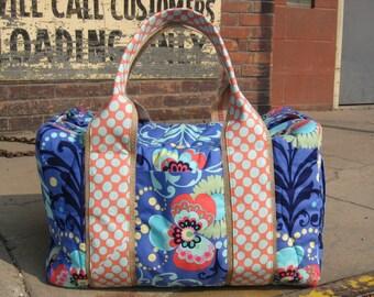Periwinkle Weekender Duffel Travel Bag