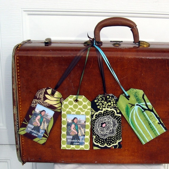 how to make luggage tags pdf etsy