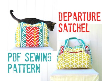 Departure Satchel PDF Sewing Pattern Instant Download