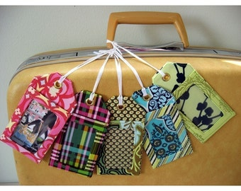 How to Make Luggage Tags Instant Download Sewing Pattern