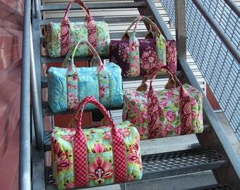 Bridesmaid Set of 5 Custom Travel Duffel Bags