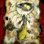 MESSENGER FROM CARCOSA Cthulhu larp Necronomicon Scrolls dark occult witchcraft magick