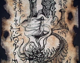 MONSTERS in the Earth cthulhu larp necronomicon magick occult horror