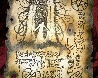 SHOGGOTH RISING cthulhu Necronomicon Fragment