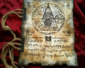 RLYEH TEXT tome fragment necronomicon cthulhu larp prop lovecraft monsters