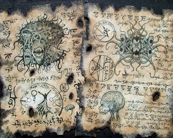CULT of YOG SOTHOTH Cthulhu larp Necronomicon lovecraft monsters occult horror dark art