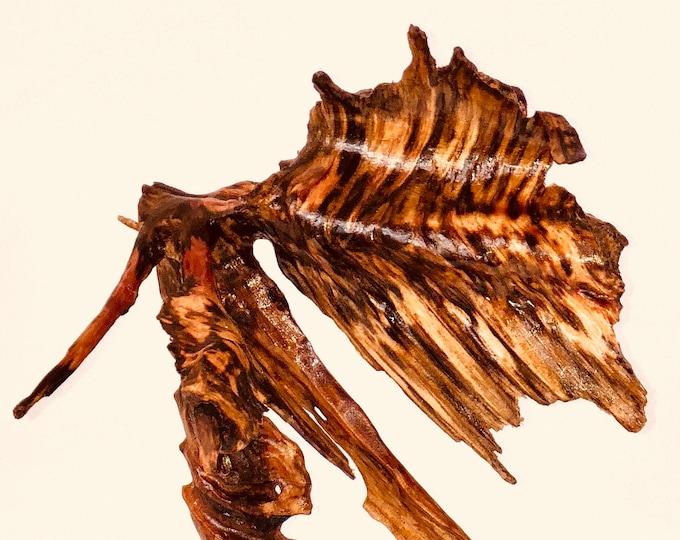 Tomahawk - wood sculpture