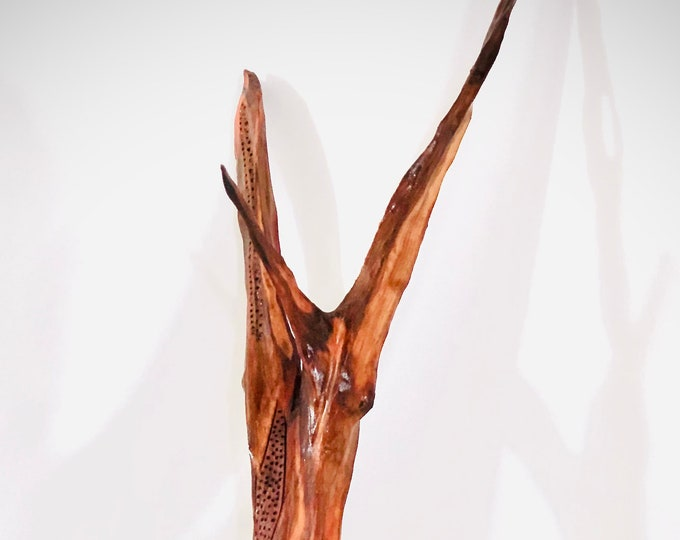 Archangel - wood sculpture