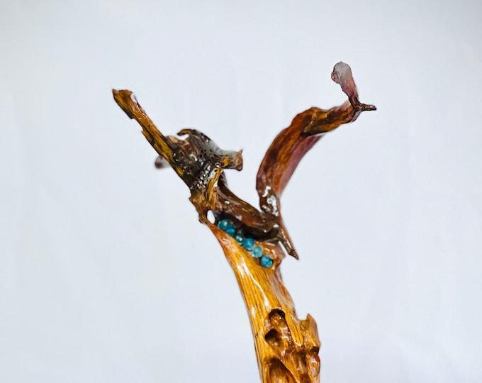 Tiny Dancer - wood sculpture