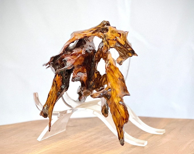 Flying Fox - abstract wood sculpture