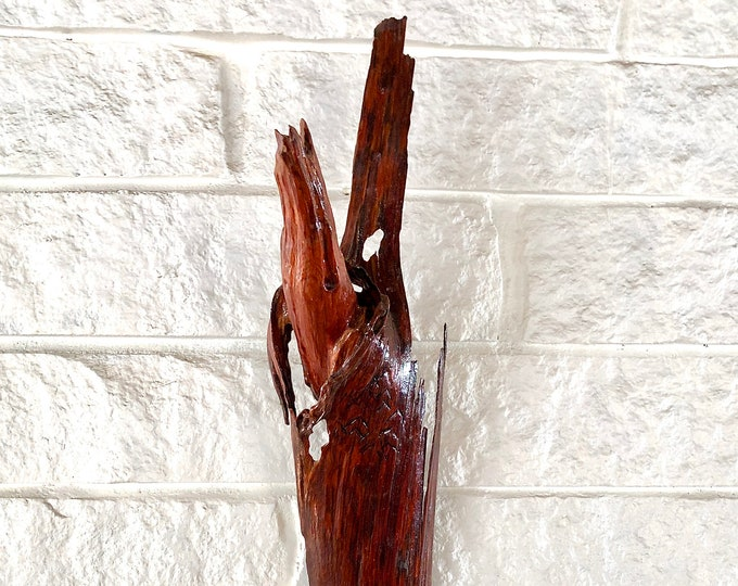 Emergence - wood sculpture