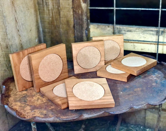 Cherry coasters - extra large #158