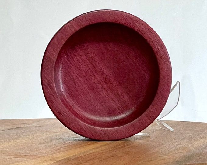 Purpleheart bowl