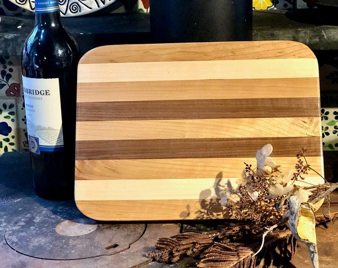 Cutting, serving board #159