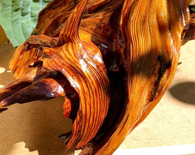 Eternal Flame - wood sculpture