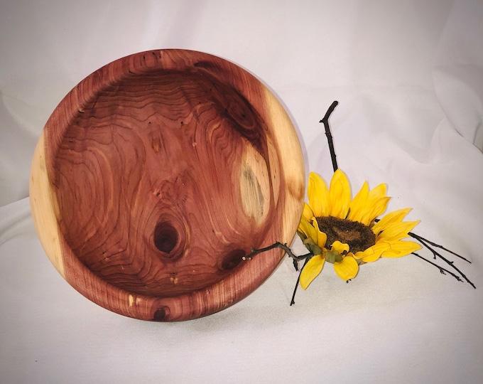 red cedar bowl