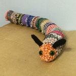 Reserved for Kristofer Door Caterpillar Draft Stopper - 27 inches