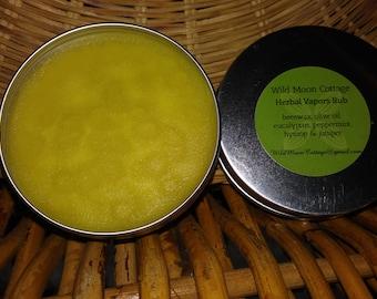 Herbal Vapors Rub -  Expectorant, Relaxing,