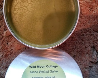 Black Walnut Salve - Drying, Drawing, Anti-itch & More