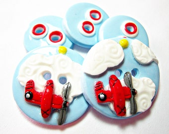 Red Baron Airplanes (set of 5)