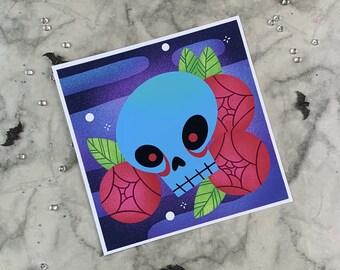Skull eyes | Art Print