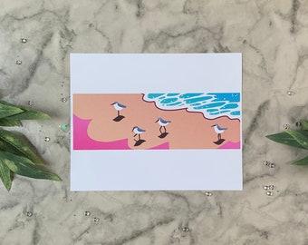 Snowy Plover | 8x10 Original Art Print