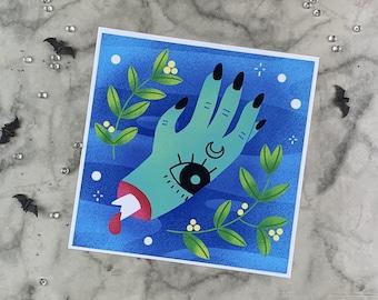 Witch's Hand | Art Print